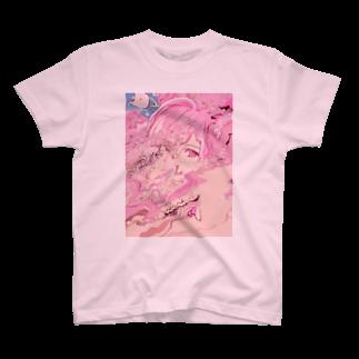 相磯桃花の(^^)(^ ^)(^.^) T-shirts