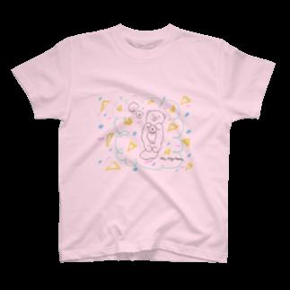 atta_aru_roomのらっこキャンディ T-shirts