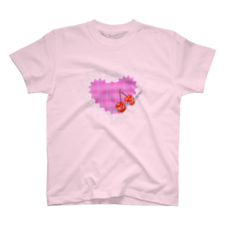 レース&ハート(Give me love) T-shirts