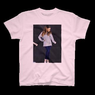 左の♡ArianaGrande♡ T-shirts