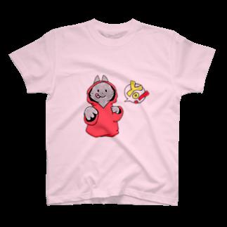 SHIMSHIMPANの猫ラッパー? T-shirts