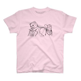シュナイダー・クマ T-shirts