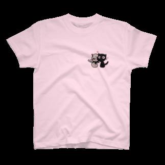 コウのカプ猫 T-shirts