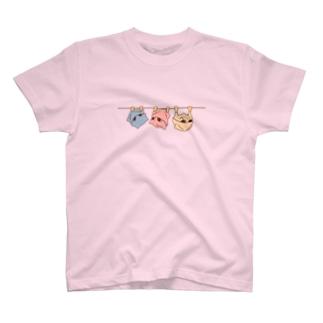 パステル吊るされゲッタT(両面) T-shirts