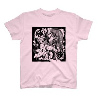 怪奇なタコさん T-shirts