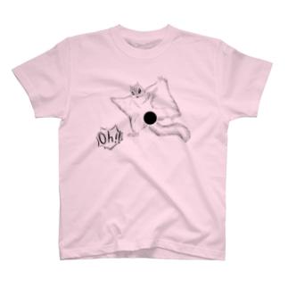 変態モモンガ(Ohつき) T-shirts