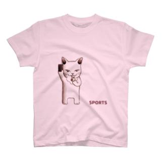 さびしい目をした猫 【主審】 T-shirts