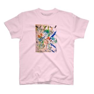 カラフル1 T-shirts