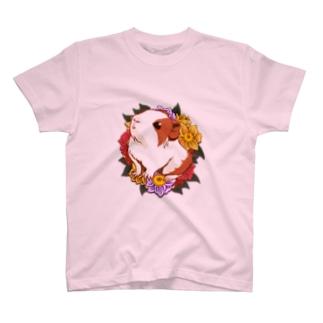 ベビーモルモット01 T-shirts