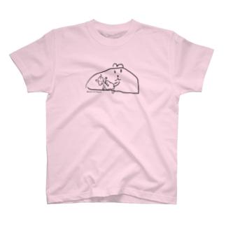 昆布山葵の娘が描いた絵 T-shirts