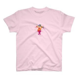 ビザコちゃんのラブラブないちにち T-shirts