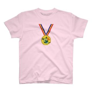 金メダル・チャレンジ! T-shirts