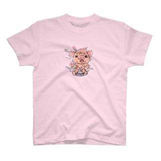 ぶたばら。 T-shirts