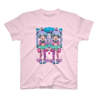 夢かわいい双子 T-shirts