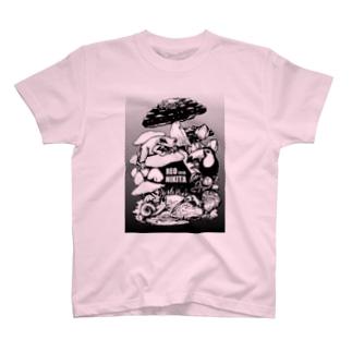 扉絵(モノクロver) T-shirts