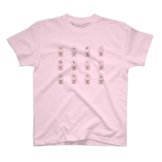 アニマッチュウ T-shirts