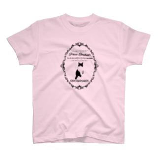 フレーム・クマ T-shirts