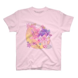 月兎びたしゅが T-shirts