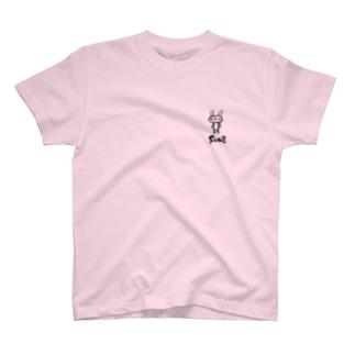 スネてるウサギ T-shirts