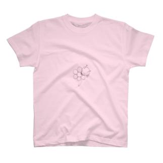 お花かじるアリ T-shirts