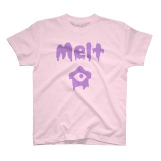 メルトくん(お芋色) T-shirts
