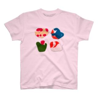 さぶのさぶ 挟み絵 T-shirts