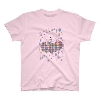 くも/あめ T-shirts