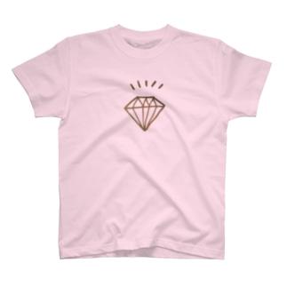 キラキラダイヤモンドシリーズ One T-shirts