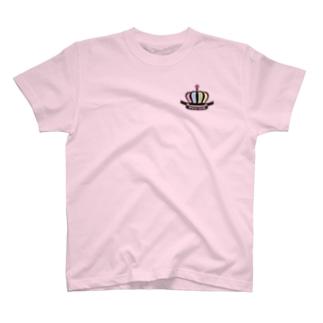 [王冠ver]#ぴよひな王国 T-shirts