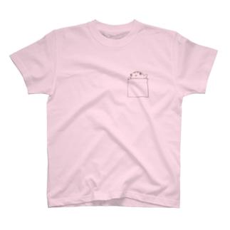 フグポッケちゃん T-shirts
