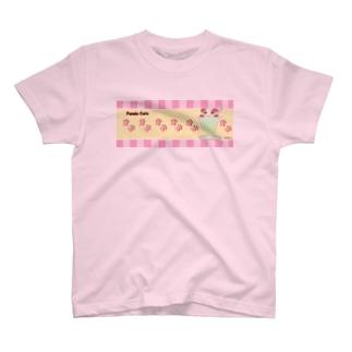 パンダなフロート T-shirts