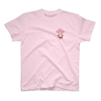 お助けモモちゃんのハッピーグッズ T-shirts