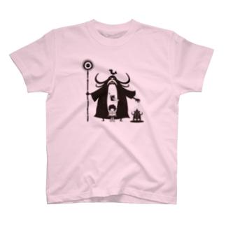 erubakki_じいちゃん知識マンモス T-shirts