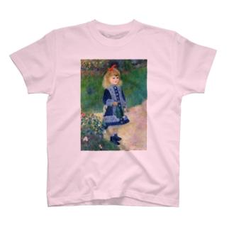 ルノワール『 じょうろを持った少女 』 T-shirts