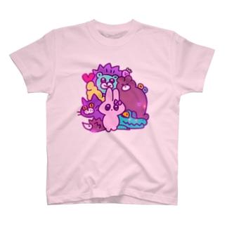 yumekawa🍭animal T-shirts
