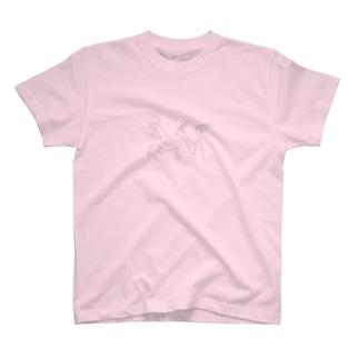 くつろぐくつ下 T-shirts