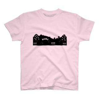 かわいい野原 T-shirts