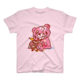 【各20点限定】いたずらぐまのグル〜ミ〜(8) T-shirts