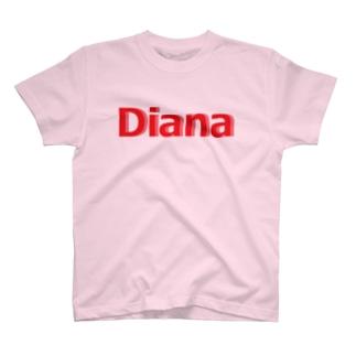 ダイアナ グッズ T-shirts