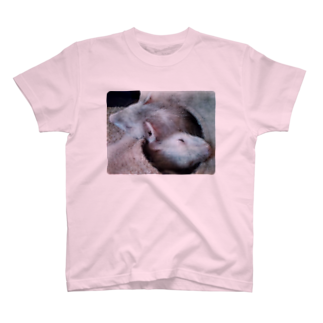 MocoMocoの仲良しなふたり T-shirts