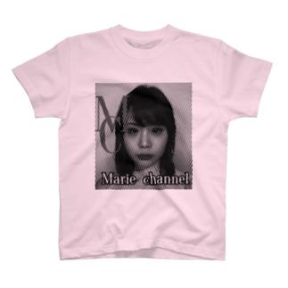 まりえちゃんねるTシャツ T-shirts