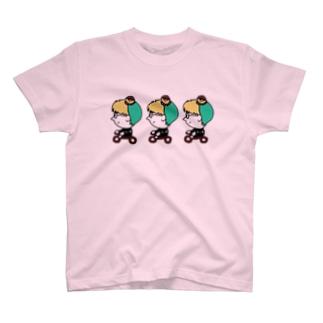 たこ虎しろちゃん T-shirts