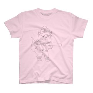 スクイズ猫 T-shirts