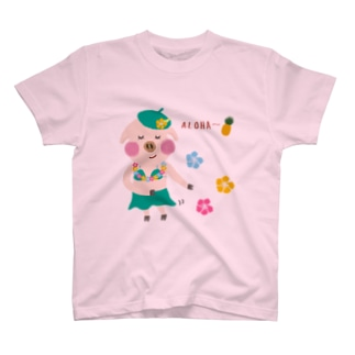 baanaruのALOHA T-shirts