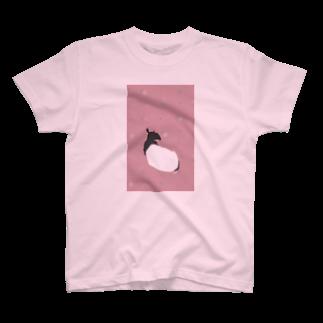 baoのまったりマレーバクさん ドット T-shirts