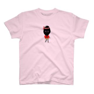 女だけど男になりたい黒豆ちゃん! T-shirts