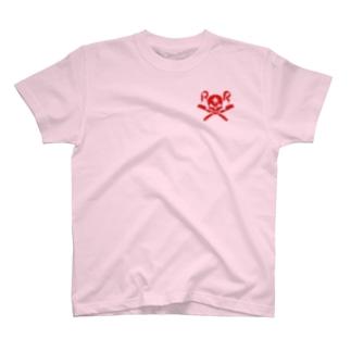 ドクロッチャ×壁 T-shirts