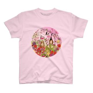 ダイゴ&ケイコ雛祭り T-shirts