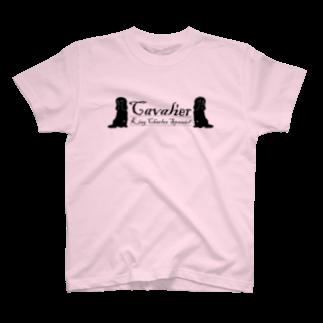 Shimiyasuのキャバリア シルエット2 T-shirts