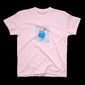 すかいぶるーのクリームソーダ/ぶるー T-shirts